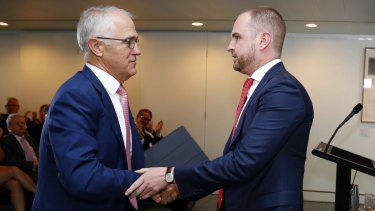"Prime Minister Malcolm Turnbull ""trusts and respects"" Andrew Bragg."