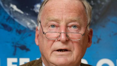 Alexander Gauland, co-top candidate of the German AfD (Alternative for Germany) party.