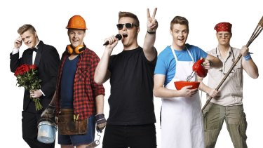 Clone me: <em>Reality Check</em>, hosted by Tom Ballard, is on ABC.