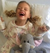 Mia was diagnosed with Batten Disease when she was three.