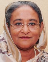 """Prime minister of Bangladesh Sheikh Hasina has accused asylum seekers of """"tainting the image of the country""""."""