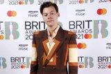 Harry Styles at the Brit Awards.
