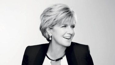 """""""If you believed all the things written about you, you'd just pull the doona over your head"""": Julie Bishop."""