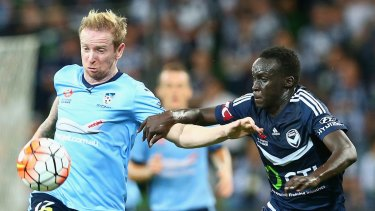 Sydney FC v Melbourne Victory in February.