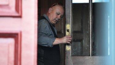 Steve Fesus has denied murdering his wife.