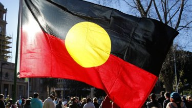 """The Shire of Carnarvon said they felt flying the Aboriginal flag on their council building was """"divisive""""."""