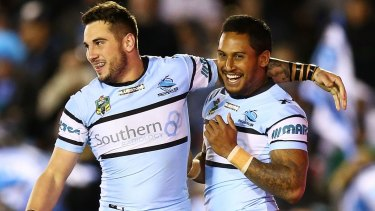 "Backing Ben: Jack Bird is ""100 per cent"" certain Ben Barba will be back at the Sharks next year."
