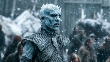 The Night King leads his army of the undead at a leisurely pace, unless they're sprinting.