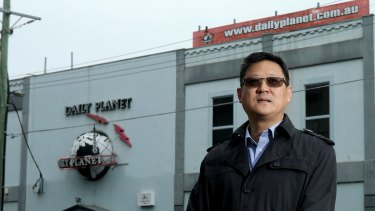 Developer Tony Huang from Auyin Developments bought the Daily Planet brothel for $12.66 million last year.