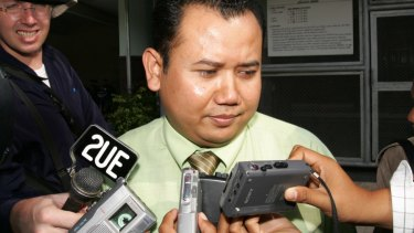 Ex-Bali nine lawyer Mohammad Rifan in 2006.