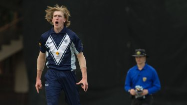 Studies come first: Victoria's Will Sutherland is turning his focus to his VCE exams.
