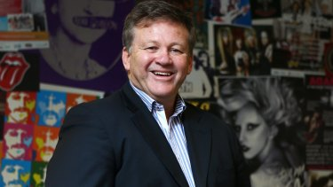 Geoff Jones says Australia is less attractive to international artists because of the falling dollar.