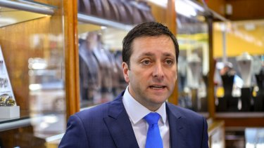 Opposition Leader Matthew Guy plans to take a strategy to deal with population growth to the next election.