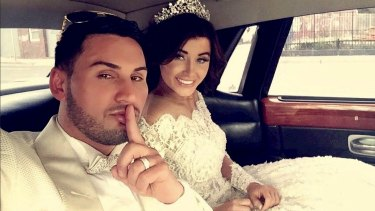 Auburn deputy mayor Salim Mehajer waited for his father Mohamad to be released from jail before marrying his girlfriend.