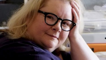 Literary gem: Apart from winning two literary awards, Magda Szubanski shows a talent for hard work.