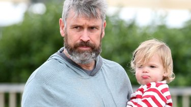 David Gyngell and his son.
