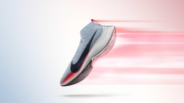 The shoe to be used in its effort to crack the two-hour mark in marathoning, is called the Zoom Vaporfly Elite