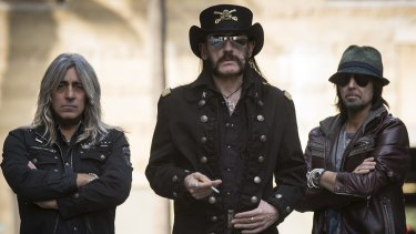 Age-defying: Motorhead are still turning out frantic, inexorable speed metal.