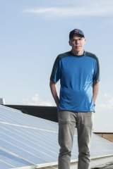 """We're in a fight, the great fight of our time"": Bill McKibben."