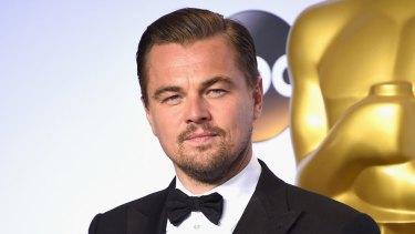 Leonardo DiCaprio.