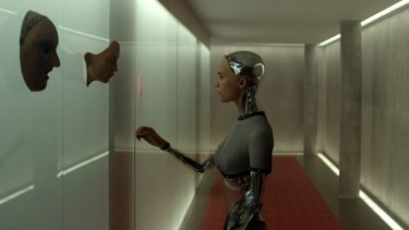 The future is within reach in Alex Garland's <i>Ex Machina</i>.