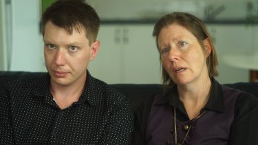 """I would like to stop this from happening to anybody else"": Ben Jago, with his mother Keren."