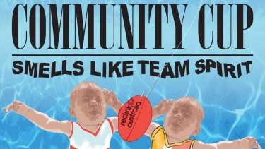 Community Cup – Smells like team spirit pays homage to Nirvana's album Nevermind.