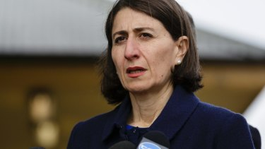NSW Premier Gladys Berejiklian rejected suggestions the new law could be used to breakup other types of protests.