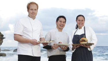 Some of the chefs who will be showing their wares at Taste of Coogee.