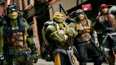 The teenage mutant ninja turtles had an underwhelming weekend at the box office.