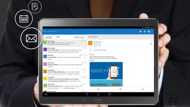 Microsoft's Outlook app for iOS and Android smartphones and tablets is a huge improvement over their its previous non-Windows mobile efforts.