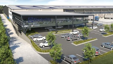 Electrolux has leased a site at AMP Capital's Crossroads industrial estate, Casula, Sydney
