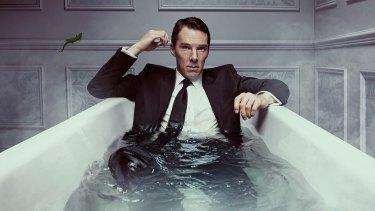 Benedict Cumberbatch as Patrick Melrose.