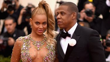 Still pop music's power couple ... Beyonce finally put the rumours to rest and publicly declared her love for Jay Z.