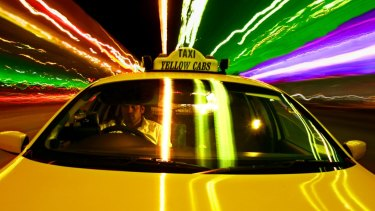 The ACCC says a new global taxi app would have lessened competition in taxi bookings