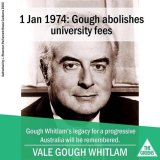 This image, distributed by the Greens, has upset Labor.