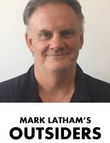 The image that appears on Mark Latham's new Facebook page.