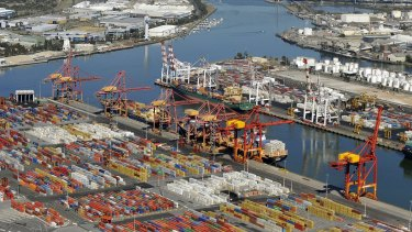 Melbourne stevedores are facing a massive rent increase.