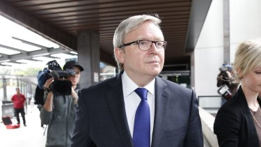 Kevin Rudd has been appointed chair of a global sanitation and water partnership.