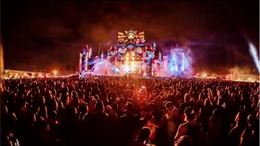 Defqon.1 Festival in action.