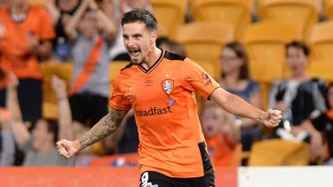 Point to prove: Jamie Maclaren must fight again for Socceroos spot.