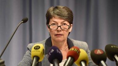Swedish Direction of Public Prosecution Marianne Ny.