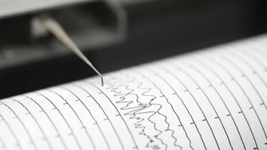 An underwater quake was detected off the coast of PNG this afternoon.