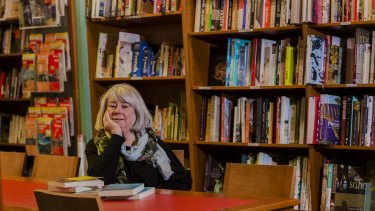 Marion Halligan at Paperchain Bookstore, Manuka.