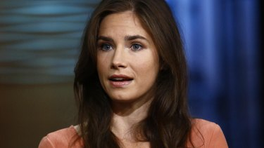 Amanda Knox, pictured here on NBC in 2013.