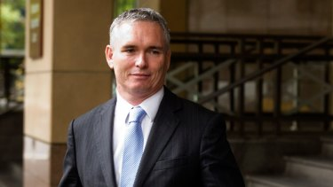Craig Thomson at court in 2014. The former MP was convicted of theft from the Health Services Union but escaped a jail term.