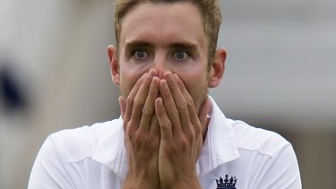 The expression that said it all at Trent Bridge.