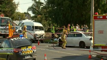 A fatal collision in Rosebud has claimed the life of an elderly woman.