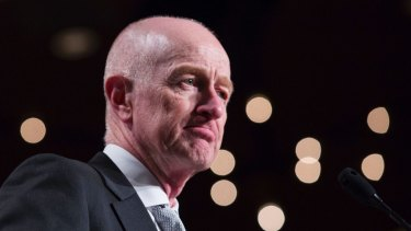 In an address to the American Australian Association, Glenn Stevens said sovereign bond holders are not getting much compensation for risk.