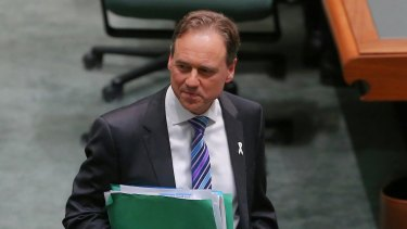 Federal Environment Minister Greg Hunt was not aware of Mr Weiss' political links, a spokesman said.